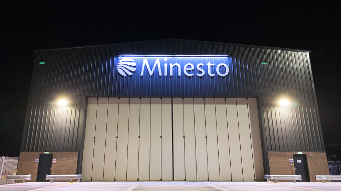 Minesto's Holyhead Assembly Hall is now fully operational