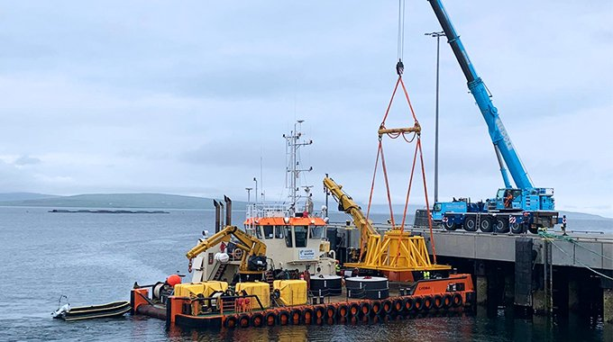 Minesto completes first offshore installation phase of the Vestmannasund project