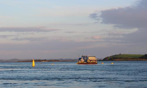Minesto's state-of-the-art test facility in Strangford Lough, Northern Ireland.
